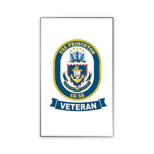 uss princeton veteran magnet
