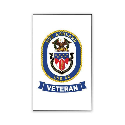 uss ashland veteran magnet