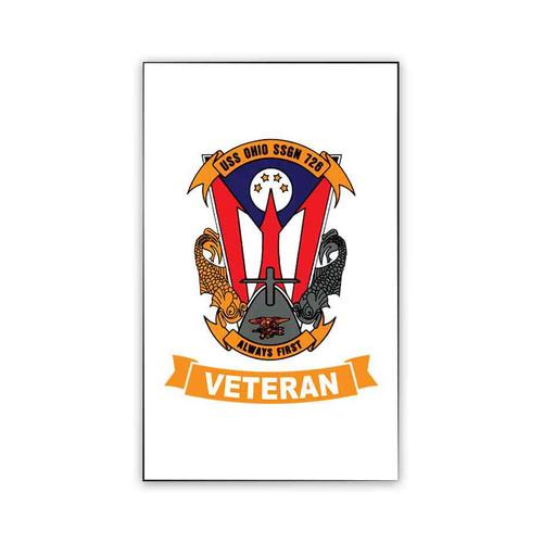 uss ohio veteran magnet