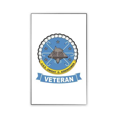 uss dwight d eisenhower veteran magnet