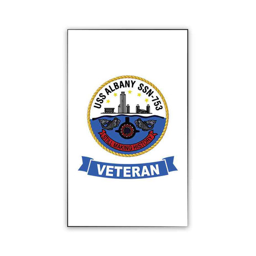 uss albany veteran magnet