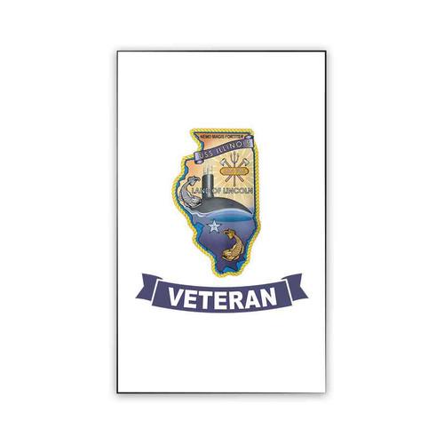 uss illinois veteran magnet