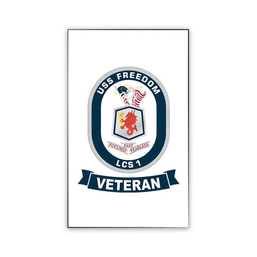 uss freedom veteran magnet