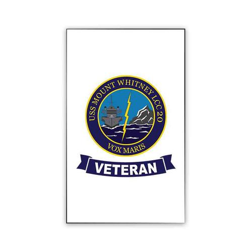 uss mount whitney veteran magnet