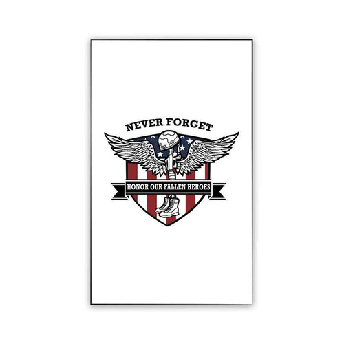 never forget memorial day magnet