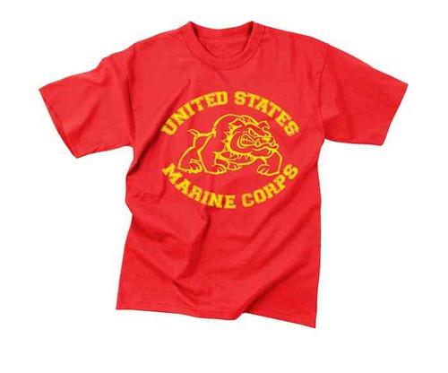 vintage marines bulldog shirt
