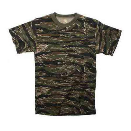 tiger stripe camouflage tshirt