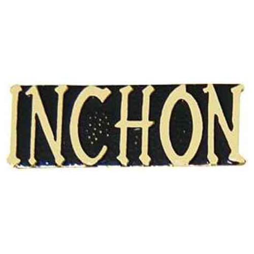 inchon hat lapel pin