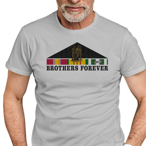 Vietnam Memorial Wall Brothers Forever Performance T-Shirt