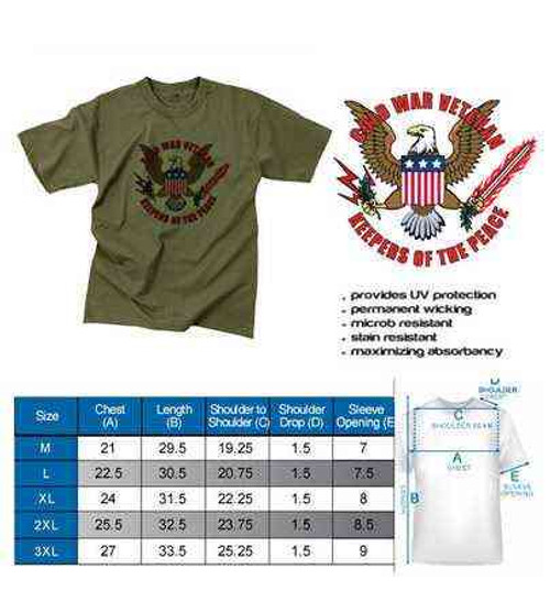 cold war veteran keepers peace olive drab green performance t shirt
