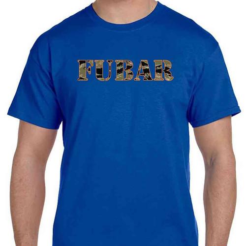fubar special edition tshirt in royal blue