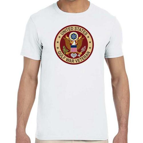 gulf war veteran shirt eagle emblem