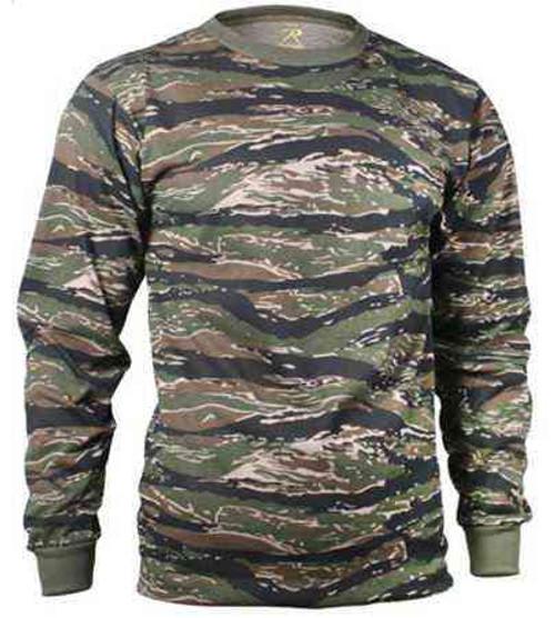 tiger stripe camouflage long sleeve shirt