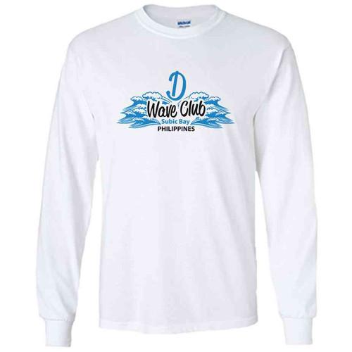 d wave club subic bay long sleeve shirt