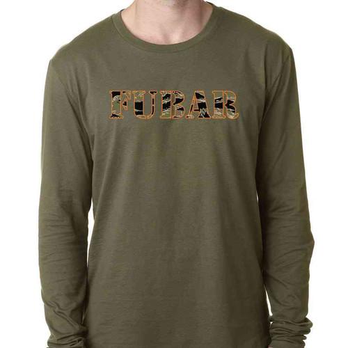 fubar special edition long sleeve shirt in o d