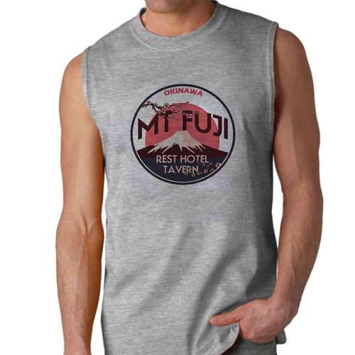 mt fuji sleeveless shirt