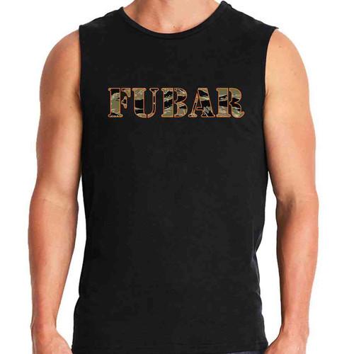 fubar sleeveless shirt