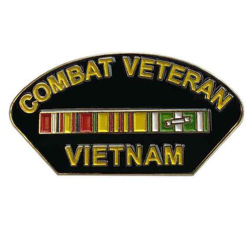 combat veteran vietnam custom lapel pin