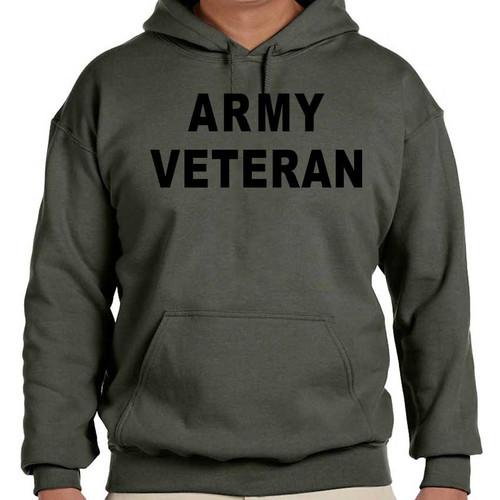 us army hooded sweatshirt army veteran