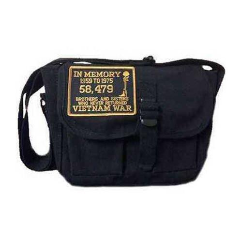 in memory vietnam war ammo shoulder bag w patch