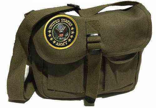 u s army ammo shoulder bag w patch