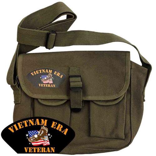 vietnam era veteran o d ammo shoulder bag eagle