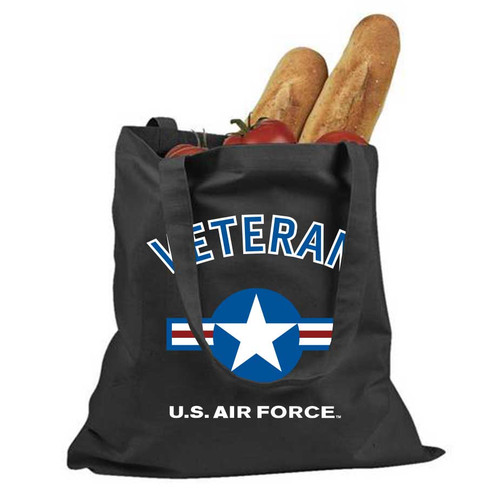 officially licensed us air force veteran bag usaf roundel