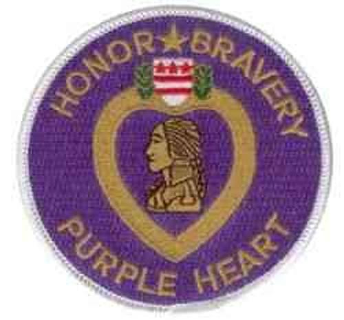 purple heart patch