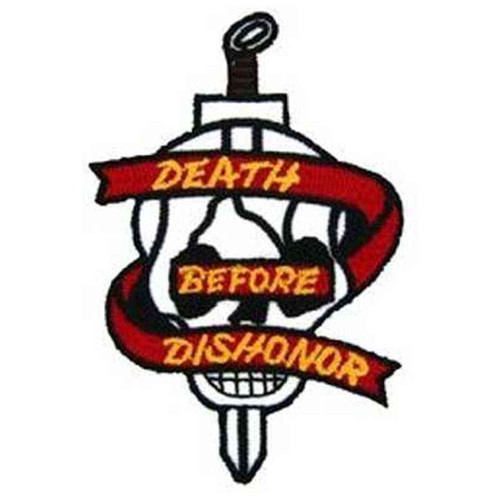 death before dishonor patch