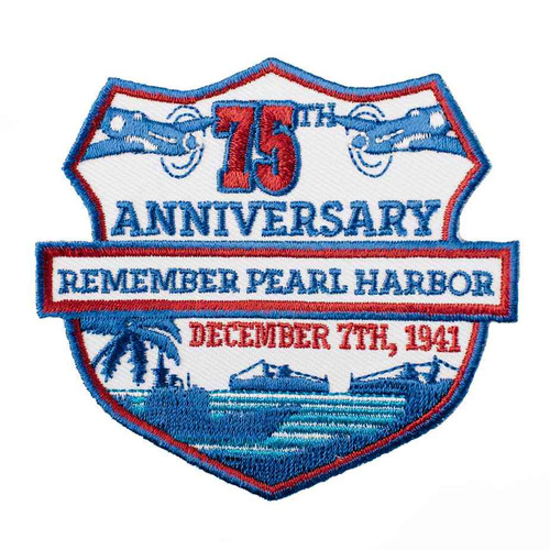 75th anniversary pearl harbor patch