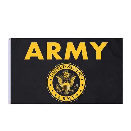 army black gold flag 3 ft x 5 ft
