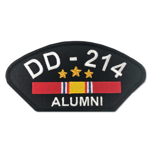 us veteran patch dd214 alumni and national service ribbon