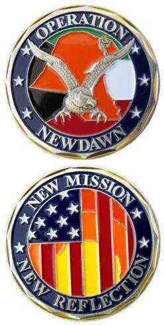 operaton new dawn kuwait challenge coin