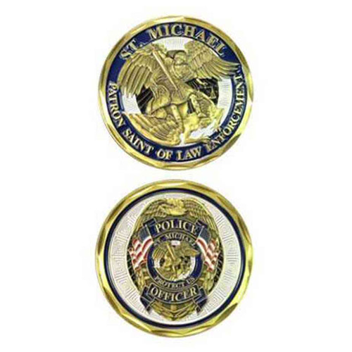 st michael police challenge coin