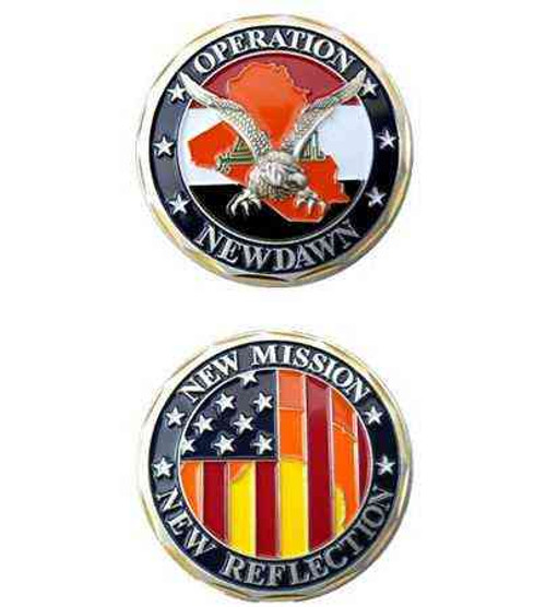 operation new dawn new mission challenge coin