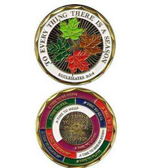 to everything there a season challenge coin