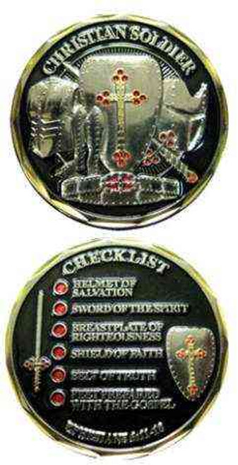 christian soldier challenge coin