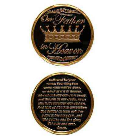 our father challenge coin