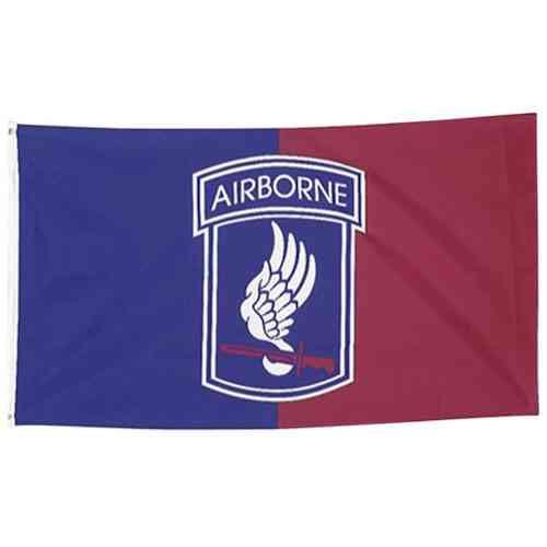 173rd airborne 3 x 5 flag