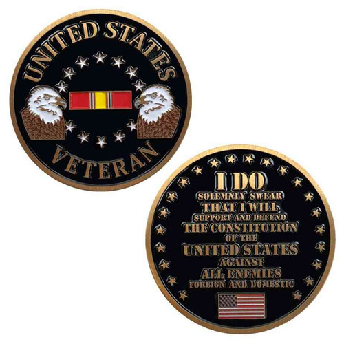 united states veteran challenge coin limited issue