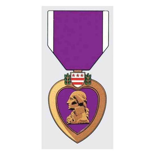 purple heart decal sticker