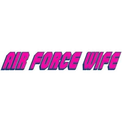 air force wife vinyl transfer