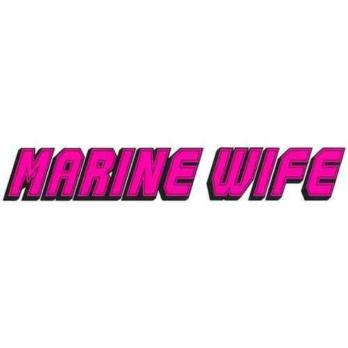 marine wife vinyl transfer