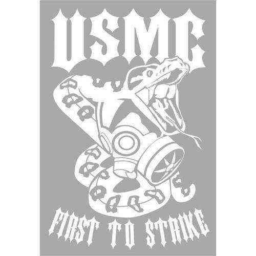 first to strike usmc jumbo vinyl transfer