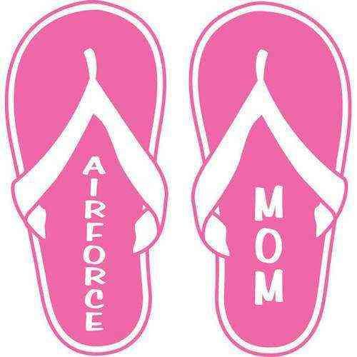 air force mom flop vinyl transfer