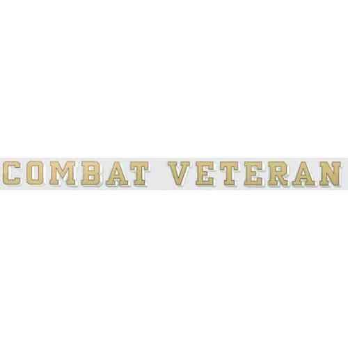 combat veteran window strip