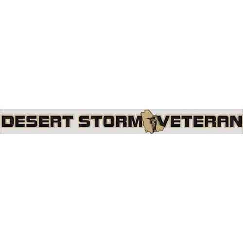 desert storm veteran window strip
