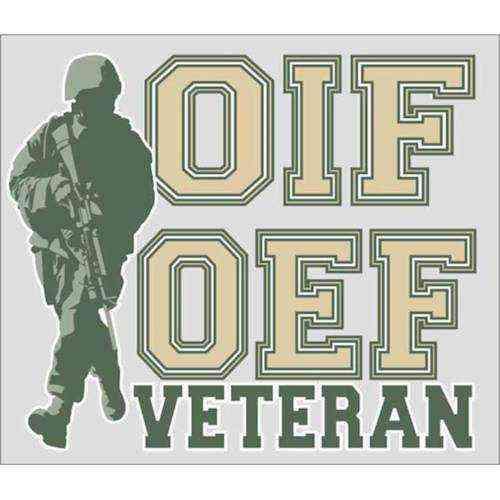 oif oef veteran decal