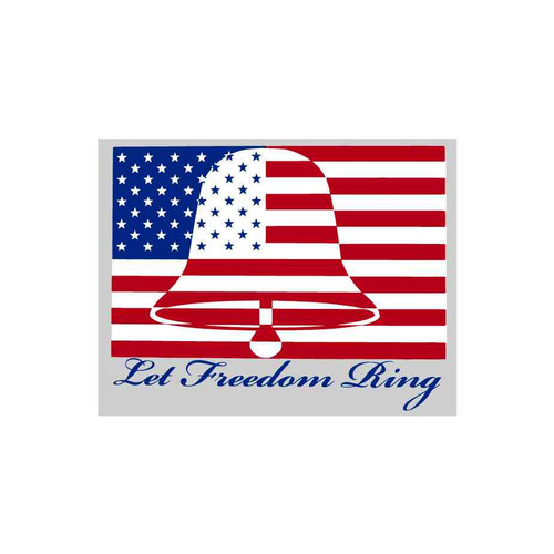 let freedom ring decal