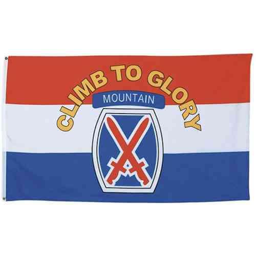 army 10th mountain division flag